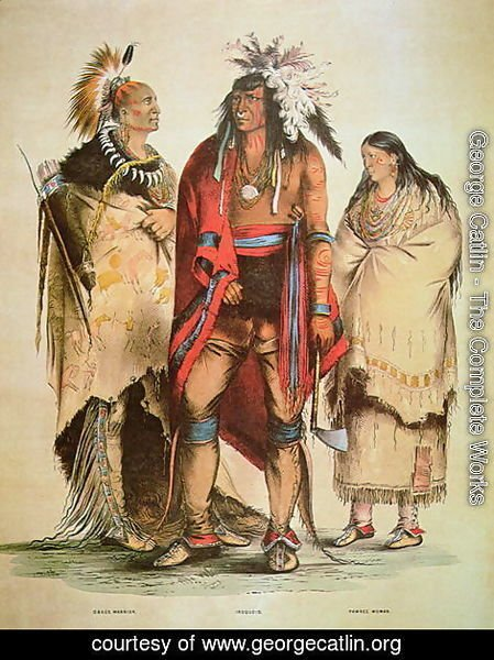 George Catlin - North American Indians, c.1832