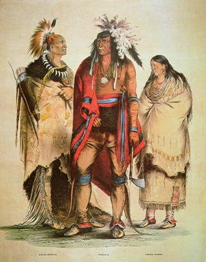 North American Indians, c.1832