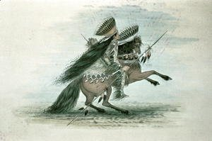 Warrior of the Crow Tribe