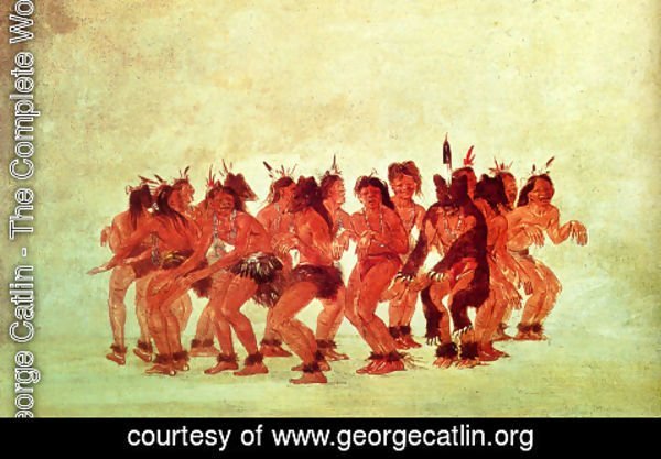 George Catlin - Bear Dance
