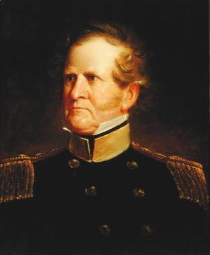 George Catlin - General Winfield Scott (1786-1866), c.1835