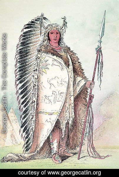 Sioux chief, 'The Black Rock'