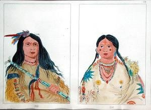 George Catlin - North American Indians
