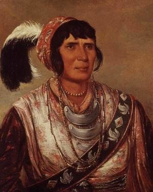 George Catlin - Portrait of Osceola (1804-38)