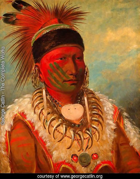 'White Cloud', Head Chief of the Iowas, 1844-45