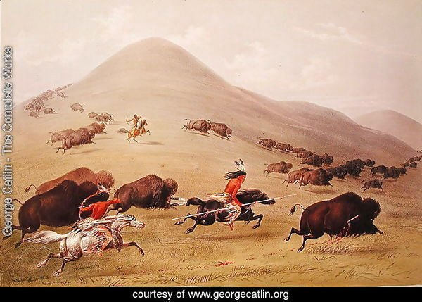 The Buffalo Hunt, c.1832