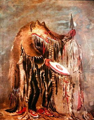 The White Buffalo, c.1840
