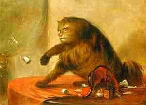 George Catlin - Le Chat d Ostend