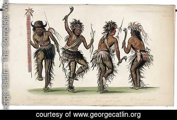 The War Dance by Ojibbeway Indians
