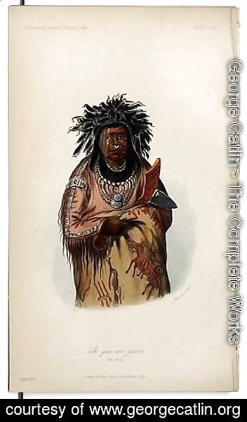 George Catlin - Ah-quee-we-zaints, The Boy