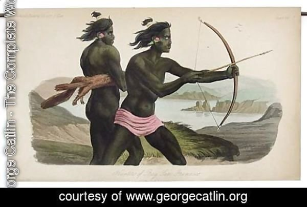George Catlin - Natives of the Bay of San Francisco