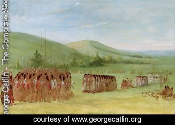 George Catlin - Ball-Play Dance