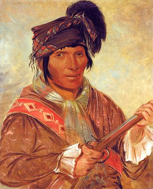 George Catlin - Co-ee-há-jo, a Seminole Chief