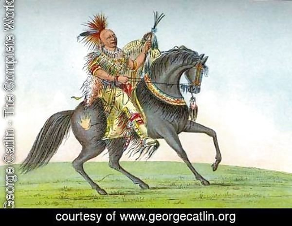 George Catlin - Kee-o-kuk (The Running Fox) 2