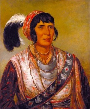 George Catlin - Seminole Chief Osceola