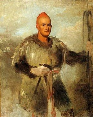 George Catlin - Theodore Burr Catlin in Indian Costume 1838