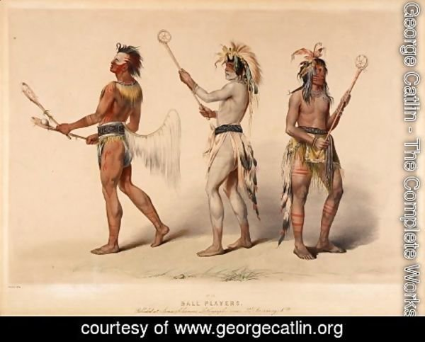 George Catlin - Ball Players