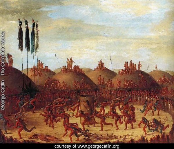 The Last Race, Mandan O-Kee-Pa Ceremony 1832
